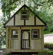 Kids Lofted Playhouse