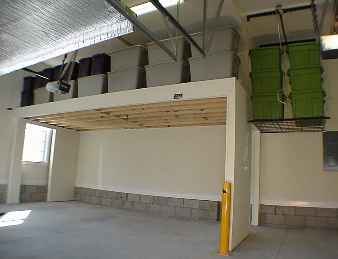 Garage storage and organization nashville tennessee for Garage mezzanine ideas