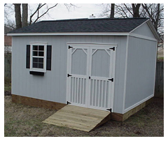 12' x 16' Country Cottage Building with Decorative Trim
